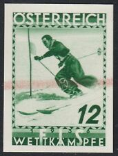 Österreich 1936 FIS Nr. 623 PU II grün Probedruck Befund