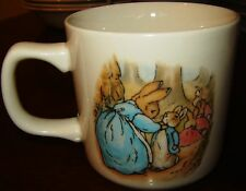 PETER RABBIT WEDGWOOD BEATRIX POTTER FREDERICK WARNE & CO. CUP 1991