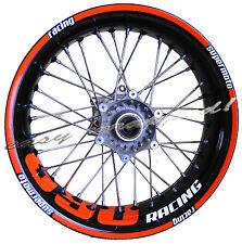KTM 690 racing - easy-wrapped Felgenaufkleber (Supermoto) wheel sticker decal