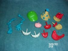 MR. POTATO HEAD PARTS AND PCS LOT OF 12 SHERLOCK HAT, TEETH, NOSE, ARMS