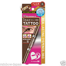 K-Palette 1 Day Tattoo Real Lasting Eyepencil NB001 Natural Brown 24h WP Liner