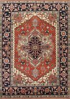 Traditional Geometric Oriental Handmade Wool Area Rug Living Room Carpet 8x11