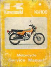 KAWASAKI KH100 EL,KH100 EX,ES 1977-1981 FACTORY WORKSHOP MANUAL 99924-1004-01