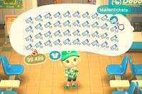 400 Nook Meilentickets | Animal Crossing New Horizons