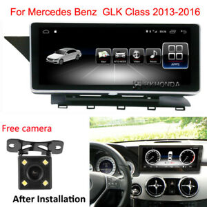 2G Ram Touch Screen Android 10 GPS Navigation for Benz GLK Class X204 2013-2016