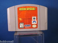 Nintendo 64 N64 Mission:Impossible Video Game