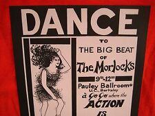Fillmore poster era Morlocks handbill 1967 ?  U.C. Berkeley Ruth Garbell
