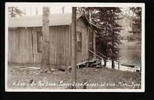 Winton Minnesota Mn c1939 Rppc Sunny Dene Resort Cabin