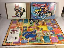 The Powerpuff Girls Board Game * Milton Bradley 2000 Hasbro Complete
