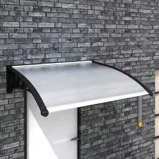 Vidaxl Tettoia esterno policarbonato trasparente 300x100cm pensilina Ingresso