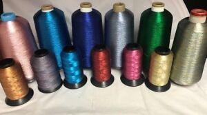 #40 Metallic Embroidery Thread