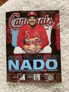 2021 St Louis Cardinals Gameday Magazine - Issue 1 Nolan Arenado Newest