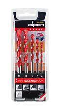 Alpen Tool Drill Bit Profi Multicut PM 5 Universal Set 5 Pc Multi Purpose