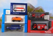 Roco Trident Herpa Praliné 1:87 Autos Einsatzfahrzeuge & Feuerwehr 5-tlg.