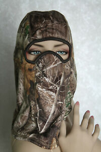 Huntworth Reversible Realtree Camouflage / Hunter Orange Hunter's Balaclava