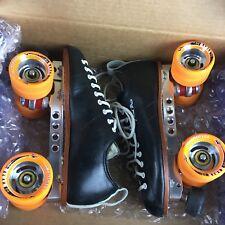 Riedell 195 Quad Skates • New • Size 6.5 Men/8.5 Women •Power Dyne plates