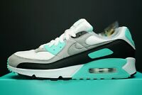 Nike Air Max 90 Hyper Turquoise Sneakers OG DS Trainers Shoes CD0881 100 AM90