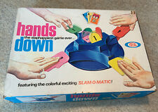 Vintage 1965 HANDS DOWN Game by Ideal Excellent Game Complete Family Game