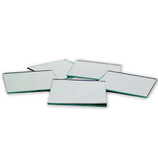 3 inch Glass Craft Small Square Mirrors Bulk 50 Pieces Mosaic Mirror Tiles