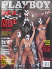THE GIRS OF KISS March 1999 PLAYBOY Magazine CENTERFOLD: ALEXANDRIA KARLSEN