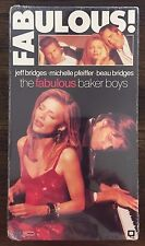 The Fabulous Baker Boys VHS (1989, VHS 68910) NEW 5107