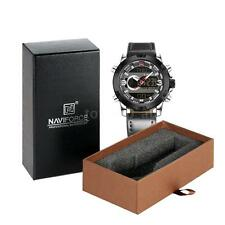 NAVIFORCE Men Sports Military Analog Digital Quartz Watch Luminous Hands M6L4
