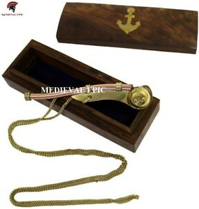 Boatswains Whistle or Bosun Pipe: Nautical Collection