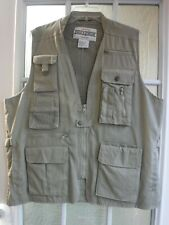 Field & Stream Beige Fishing&Hunting Vest Men's L ~NWOT~