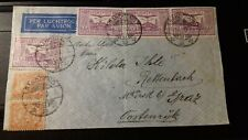 NETHERLAND INDIE 6/12/1933 NICE COVER FROM BANDOENG TO GRAZ POSTMARKS (SEE NOTE)