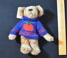 DEXTER Boyds Bears Archive Collection Wears Navy Sweater  B1