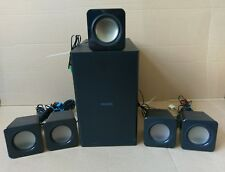 Philips HTS3541/F7 5.1 Surround Sound Home Theater System Speakers & Subwoofer