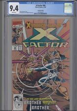 X-Factor #60 CGC 9.4 Marvel Extinction Event 2nd print Gold Cover: New Frame