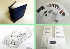 Mercedes Benz SL R129 / 300SL-24 500SL Mappe Schulungsunterlagen Sonderdrucke 89