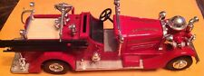 Ertl 1934 Eastwood Vol. Fire Dept. Ahren Fox Pumper Truck Bank
