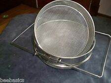 New Stainless Steel Honey Sieve, extractor,or food strainer, free shipping!