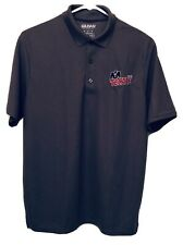 Tecate Cerveza Beer Embroidered Golf Performance Polo Shirt Mens Medium