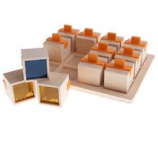 Set of Wooden Musical Box Sensory Developmental Toy Memory Matching Puzzles