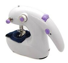 NEW PORTABLE HOUSEHOLD HANDHELD HANDY MINI ELECTRIC SEWING MACHINE BATTERY GIFT
