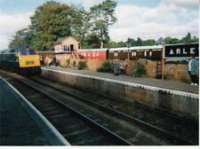 OS031. Photograph. Train at a Station. Arley. Worcestershire.