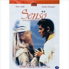 Senso (1954) DVD - Luchino Visconti (NEW) / NO CASE (Only Cover & Disc)