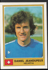 Football Sticker - Panini Euro Football 1976 - No 122 - Daniel Jeandupeux