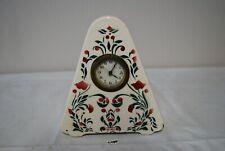 C190 Ancienne horloge de table - céramique