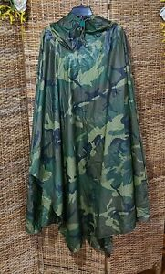 US Army ORC Industries Hooded Military Poncho Sleeping Bag Cover, 2 Make a Tent