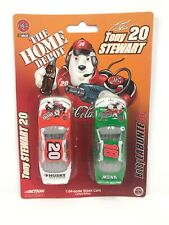 #20 & #18 - Stewart & Labonte - Coca Cola Bears - Home Depot 2 Pack - 1:64 CARS
