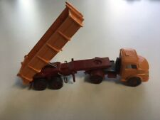 Wiking / Germany 1960's Mercedes Benz MB 1413 Long Bed Dump Truck