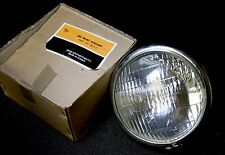 """5 1/2"""" Chrome Side Mount Motorcycle Headlight Lamp Assembly Superior + 4420 Bulb"""