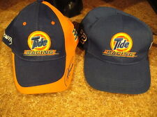 TIDE DOWNY RACING #32 Ricky Craven VINTAGE SET of 2 Snap Back Hats Ball Caps
