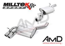 Milltek Audi S3 8P Système D'échappement Chat Retour Resonated GT80 Embouts