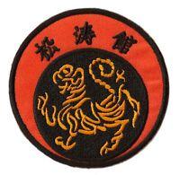 Patch écusson patche Shotokan Karaté thermocollant badge arts martiaux