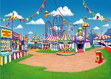 7X5FT Circus Photo Background Vinyl Photography Backdrop Studio Props DSN160